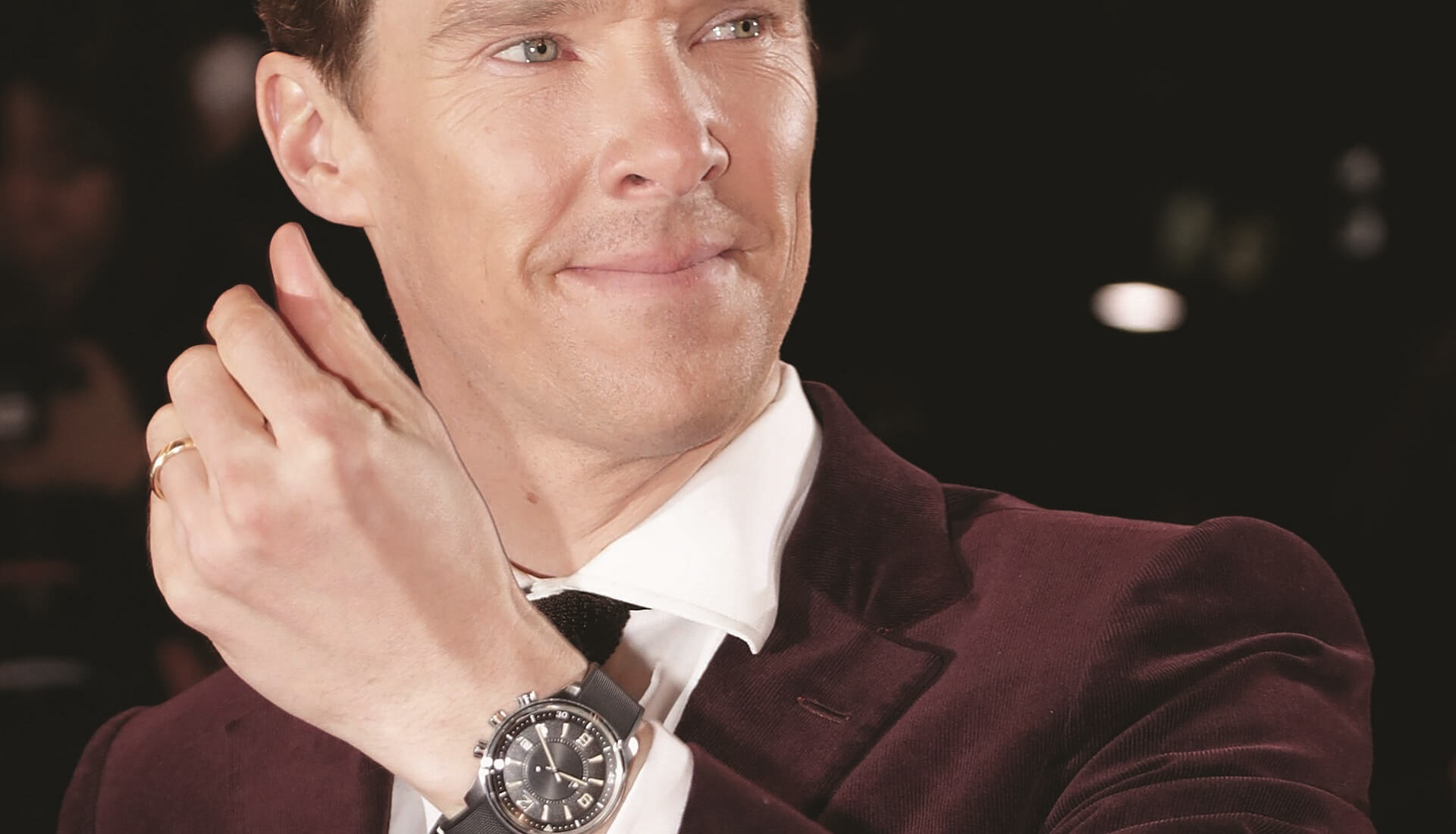 Benedict Cumberbatch montre Jaeger-LeCoultre