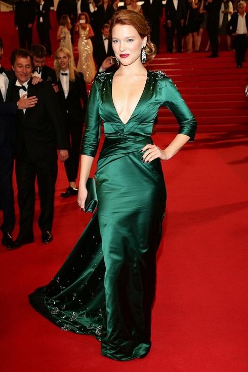 Léa Seydoux au Festival de Cannes le 17 mai 2014