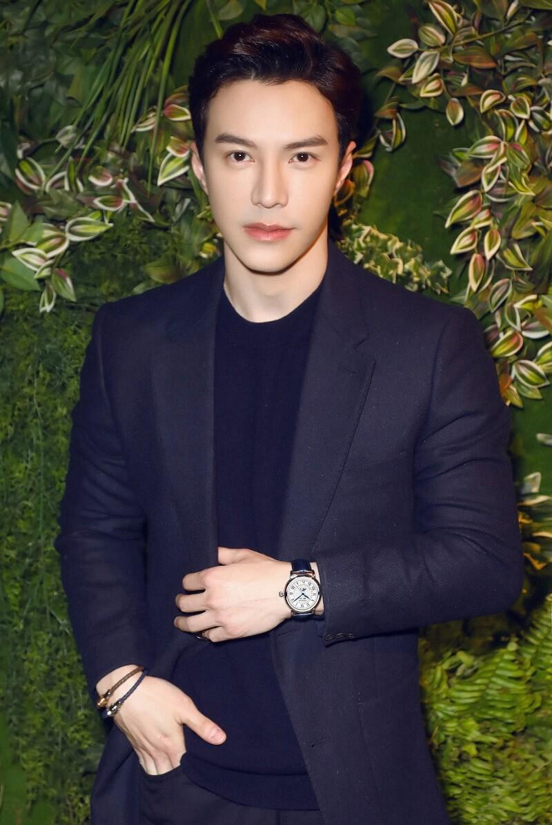 Lawrence Wong pour Montblanc le 14 janvier 2019