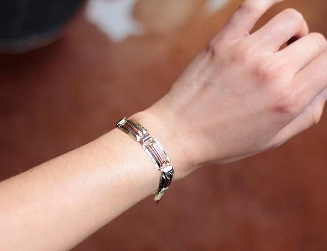 Bracelet Art Déco 3 ors